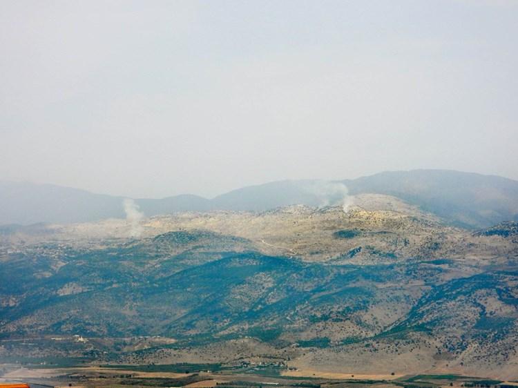 lebanon israel border